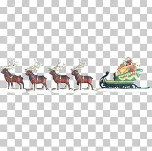 Reindeer Animal Figurine Antler PNG