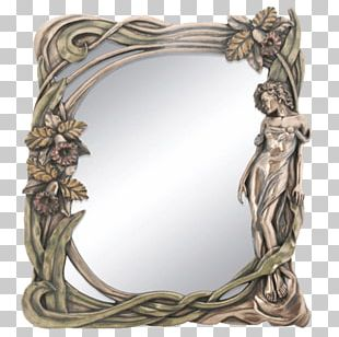 Art Nouveau Mirror Decorative Arts Art Deco PNG