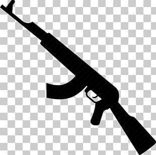 Gun Barrel Automatic Firearm Weapon AK-47 PNG