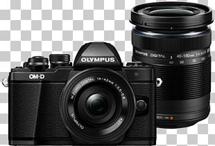 Olympus OM-D E-M10 Mark II Olympus OM-D E-M5 Mark II Olympus M.Zuiko Wide-Angle Zoom 14-42mm F/3.5-5.6 Camera Lens PNG
