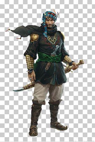 Sinbad Iran Warrior Character PNG