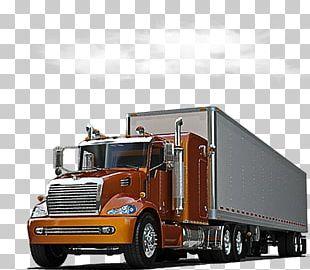 Car Semi-trailer Truck Driving PNG