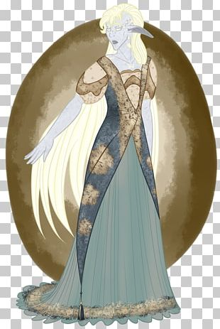 Costume Design Gown Legendary Creature PNG