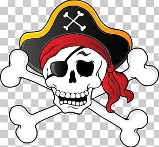 Skull & Bones Piracy Skull And Crossbones PNG