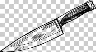 Throwing Knife Kitchen Knife Drawing PNG