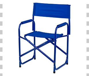Table Director's Chair Folding Chair Color PNG