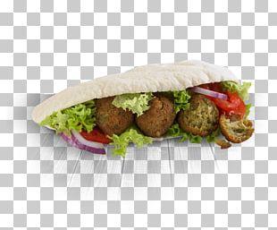 Falafel Hamburger Wrap Pita Veggie Burger PNG