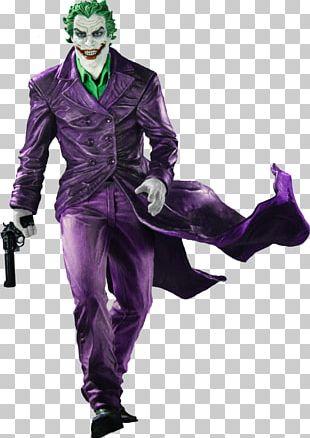 Joker Batman Black And White Statue PNG