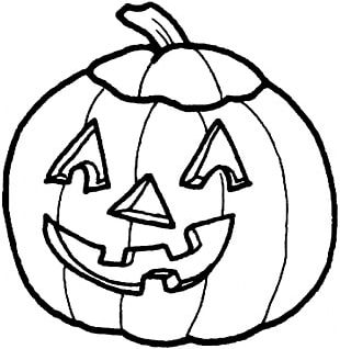 Pumpkin Pie Coloring Book Child Page PNG