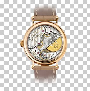 Gold Watch Strap Calatrava Patek Philippe & Co. PNG