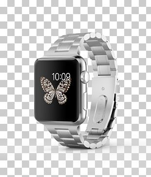 Watch Bands Stainless Steel Adult Apple 42mm Link Bracelet PNG