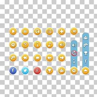 Graphical User Interface Button Game PNG