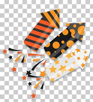 Halloween Party Firecracker PNG