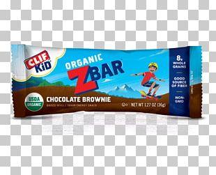 Organic Food Chocolate Brownie Energy Bar Clif Bar & Company Advertising PNG