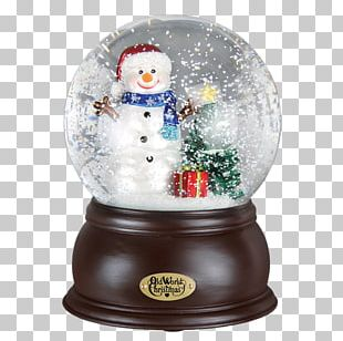 Christmas Ornament Snow Globes Snowman Santa Claus PNG
