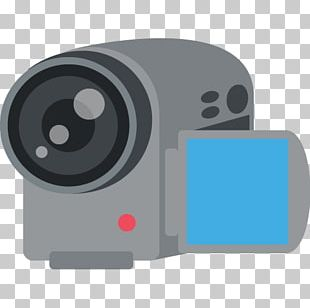 Emoji Video Cameras Photography Photographic Film Movie Camera PNG