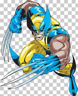 Wolverine Comic Book Comics Cartoon X-Men PNG