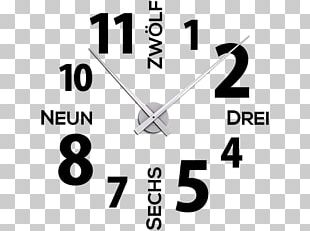 Clock Industrial Design Wall Decal Logo PNG