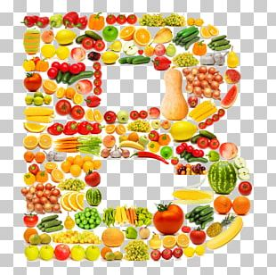 Fruit Vegetable Letter Alphabet PNG