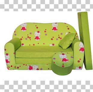 Hello Kitty Sofa Bed Couch Cushion Toy PNG
