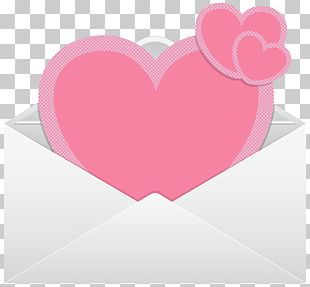 Heart Pink Valentine's Day Font PNG