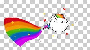Mascot Unicorn Rainbow PNG
