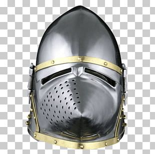 Middle Ages Motorcycle Helmets Bascinet Great Helm PNG
