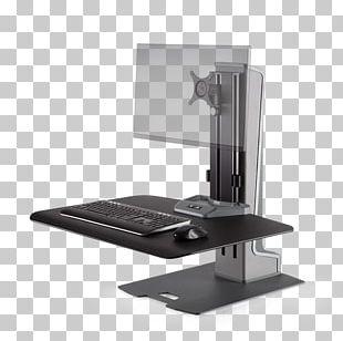 Sit-stand Desk Standing Desk Monitor Mount Innovation PNG