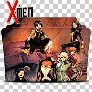 Jubilee Kitty Pryde Storm X-Men Comics PNG