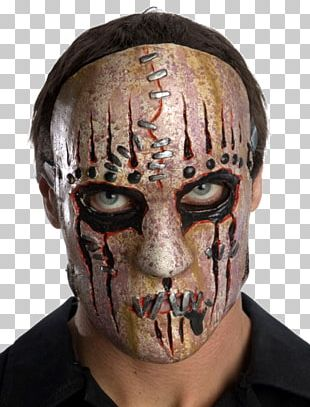 Slipknot Latex Mask Iowa Costume PNG
