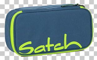 Pen & Pencil Cases Ergobag Satch SchlamperBox SAT-BSC-001 Satch Pack Green PNG