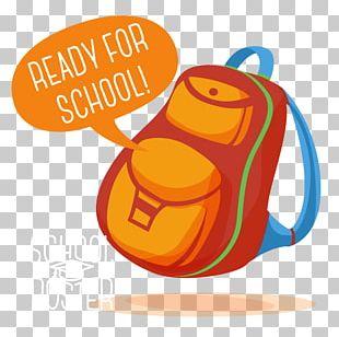 Poster Backpack Illustration PNG