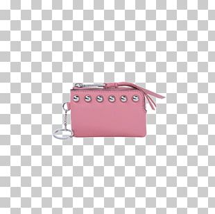 Coin Purse Handbag Wallet Pink PNG