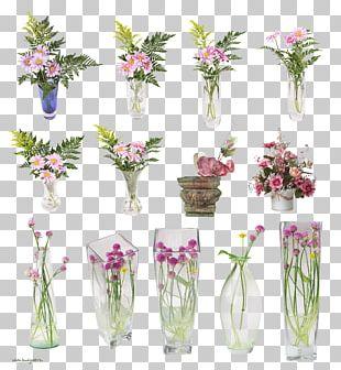 Cut Flowers Vase Floral Design Floristry PNG
