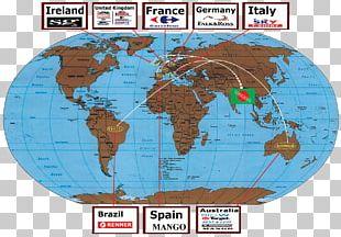 World Map Globe World Political Map PNG
