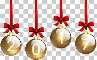 Christmas Day Christmas Ornament New Year PNG