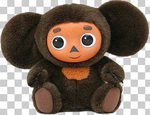 Cheburashka Plush Stuffed Animals & Cuddly Toys Doll PNG