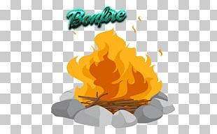 S'more Campfire PNG