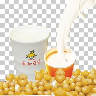 Soy Milk Vegetarian Cuisine Soybean Yonghe District PNG