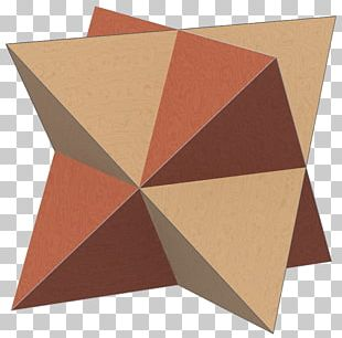 Compound Of Two Tetrahedra Tetrahedron Stellated Octahedron Platonic Solid PNG