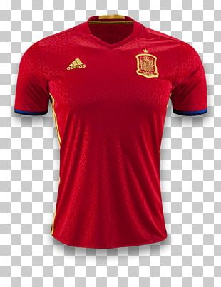 Spain National Football Team UEFA Euro 2016 Paris Saint-Germain F.C. Jersey PNG