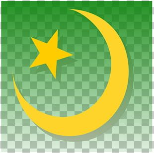 Symbols Of Islam Star And Crescent Religious Symbol PNG