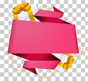 Ribbon Valentines Day PNG