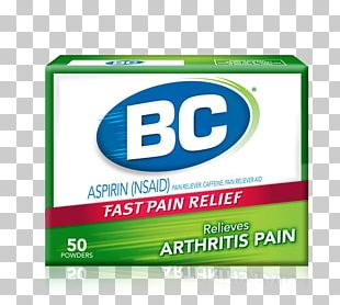 BC Powder Ache Goody's Powder Arthritis Pain Pain Management PNG