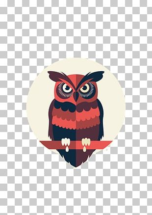 Owl Graphic Design Drawing Behance Illustration PNG