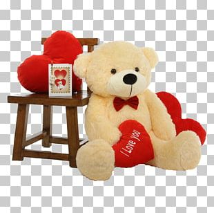 Teddy Bear Valentine's Day Stuffed Animals & Cuddly Toys Gift PNG