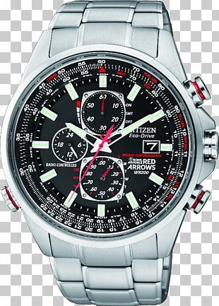 Citizen Holdings Eco-Drive Watch Chronograph Red Arrows PNG