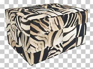 Foot Rests Footstool Cowhide Pillow Zebra PNG