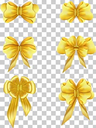 Gold Ribbon Adobe Illustrator PNG