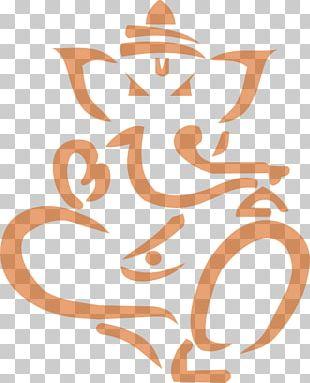 Ganesha Drawing PNG